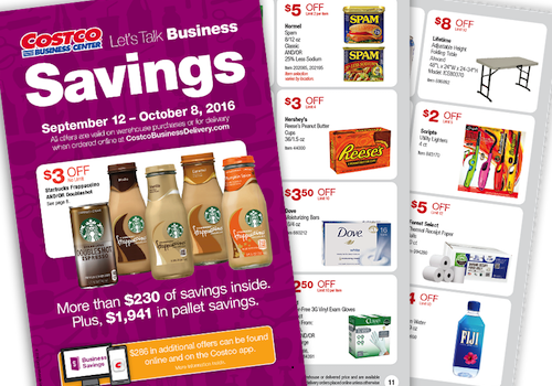 Costco BUSINESS Center Coupon Book: September 12, 2016 - October 8, 2016