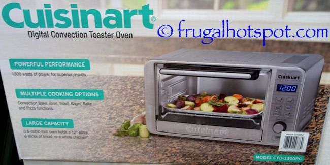 Cuisinart Countertop Convection Toaster Oven Costco : Costco Sale: Cuisinart Digital Convection Toaster Oven $69.99 Frugal ...
