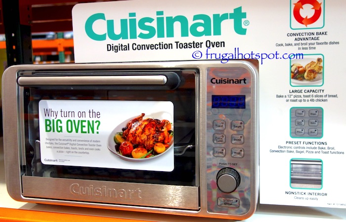 Costco Sale Cuisinart Digital Convection Toaster Oven $69 99