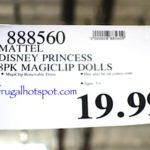 Disney Frozen and Princess Magi Clip Doll 8-pack Costco Price | Frugal Hotspot