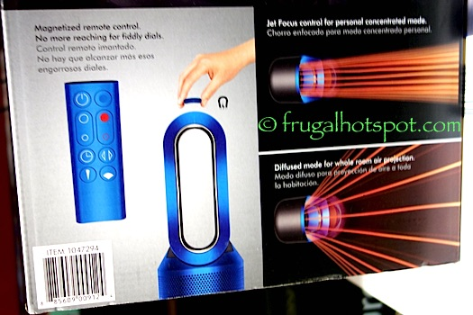 Dyson Pure Hot+Cool Heater/Fan/Purifier Costco | Frugal Hotspot