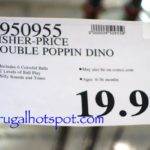 Fisher Price Double Poppin Dino Costco Price | Frugal Hotspot