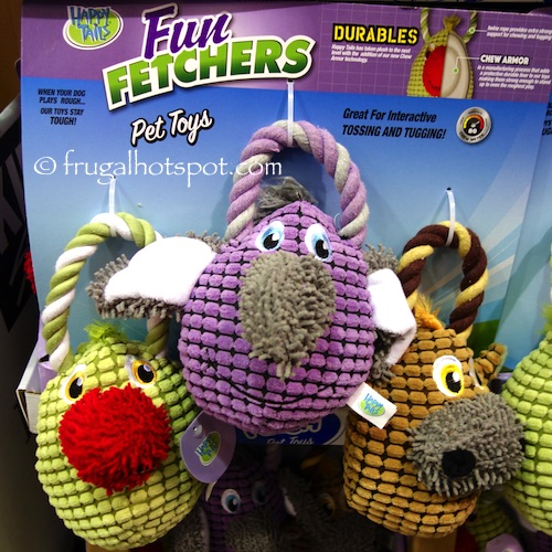 Happy Tails Fun Fetchers Pet Toys 3-Piece Costco | Frugal Hotspot