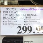 Rollplay 12V GMC Denali Blackout Edition Costco Price | Frugal Hotspot