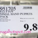 KellyToy Animal Hand Puppets 4-Pack Costco Price | Frugal Hotspot