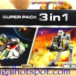 Lego Star Wars Super Pack 3-in-1 Series 3 Microfighters Costco | Frugal Hotspot
