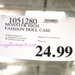 Monster High 57-Pc Cool Ghoul Beauty Collection + Doll Costco Price | Frugal Hotspot