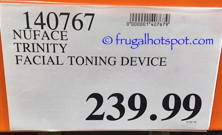 NūFACE Trinity Pro Facial Toning Kit Costco Price | Frugal Hotspot