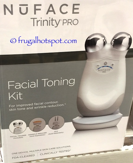 NūFACE Trinity Pro Facial Toning Kit Costco | Frugal Hotspot