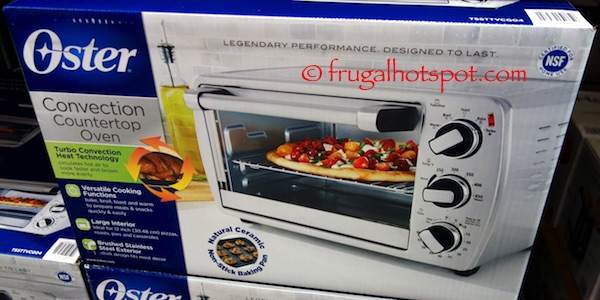 Countertop Oven Costco : Oster Convection Countertop Oven Costco Frugal Hotspot