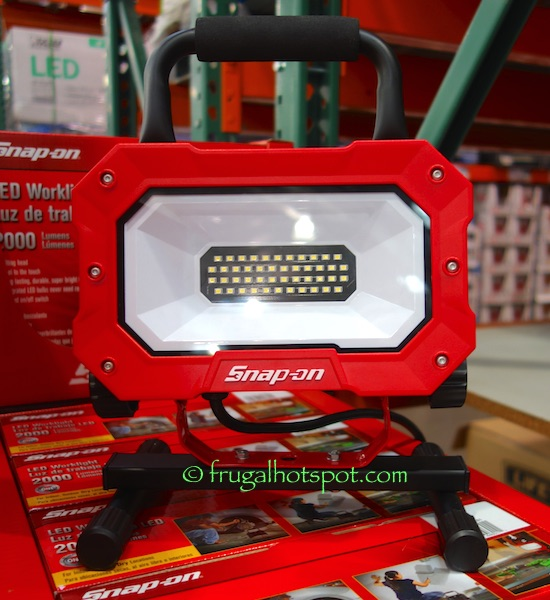 Snap-On LED Worklight 2000 Lumens Costco | Frugal Hotspot
