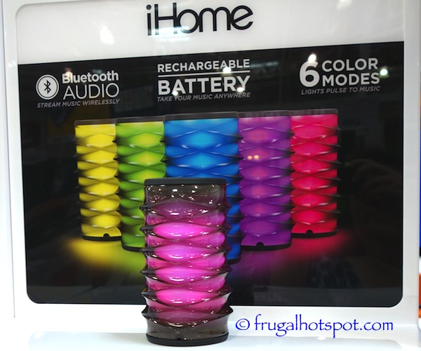 iHome IBT80 Color Changing Speaker Costco | Frugal Hotspot
