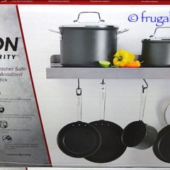 Costco Clearance: Anolon Authority Hard Anodized 10-Pc Cookware Set $149.97
