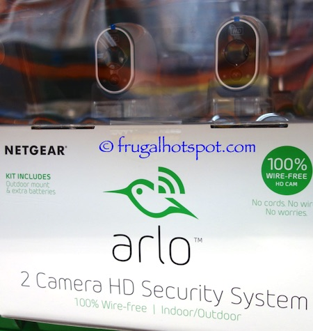 Netgear Arlo 2 Camera HD Security System Costco | Frugal Hotspot