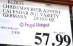 Costco price: Brewer's Advent Calendar with 24 German Beers