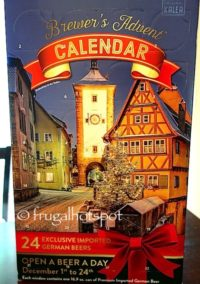 Brewer's Advent Calendar with 24 German Beers at Costco