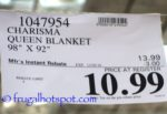 Charisma Queen Blanket Costco Price