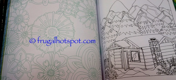 Color Me Zen Coloring Book Costco | Frugal Hotspot