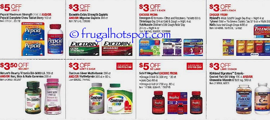 Costco Coupon Book: October 27, 2016 - November 27, 2016. Frugal Hotspot. Page 12