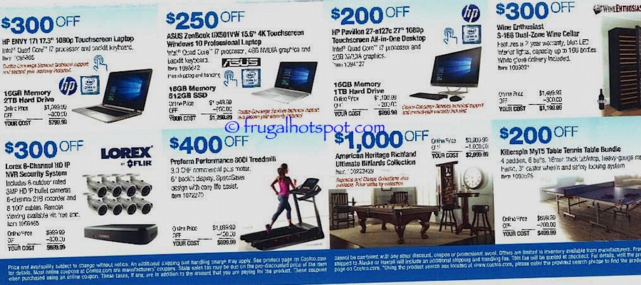 Costco Coupon Book: October 27, 2016 - November 27, 2016. Frugal Hotspot. Page 15
