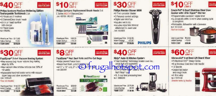 Costco Coupon Book: October 27, 2016 - November 27, 2016. Frugal Hotspot. Page 2