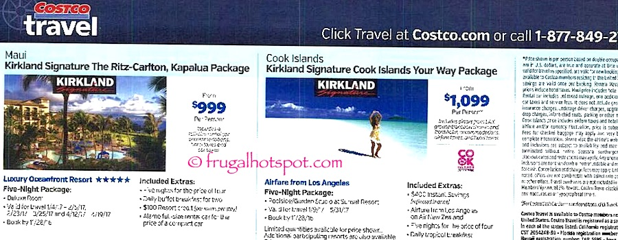 Costco Coupon Book: October 27, 2016 - November 27, 2016. Frugal Hotspot. Page 20