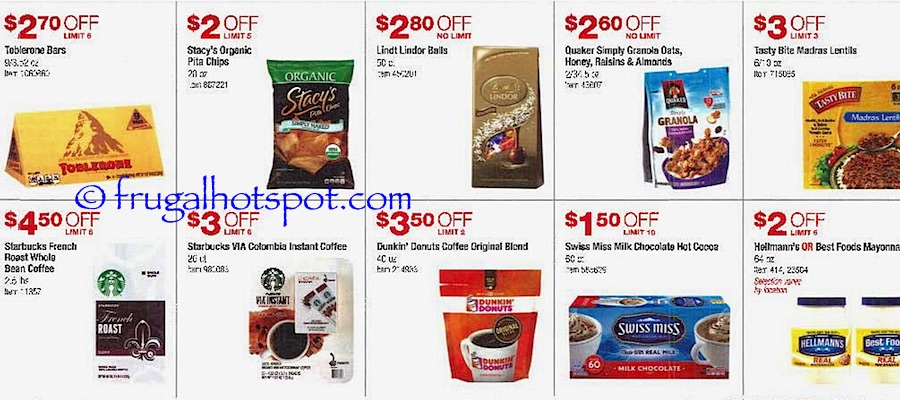 Costco Coupon Book: October 27, 2016 - November 27, 2016. Frugal Hotspot. Page 6