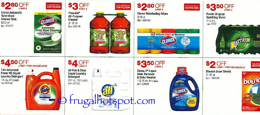 Costco Coupon Book: October 27, 2016 - November 27, 2016. Frugal Hotspot. Page 8