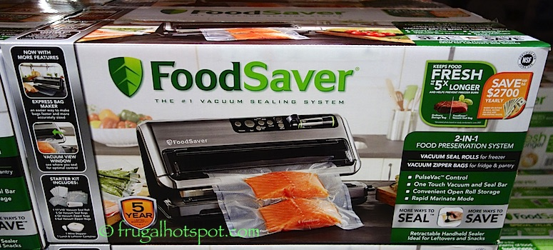FoodSaver 5480 Automatic Vacuum Sealing System Costco | Frugal Hotspot