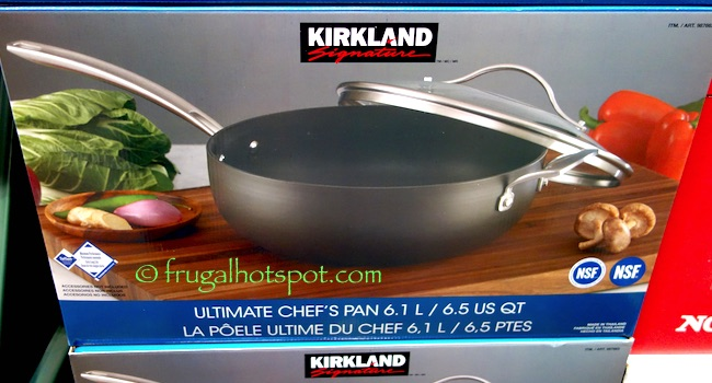 Kirkland Signature Ultimate Chef's Pan 6.5 Quart Costco | Frugal Hotspot