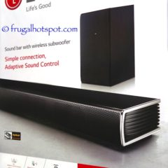 Costco Sale: LG SHC4 2.1 Channel Sound Bar with Wireless Subwoofer $149.99