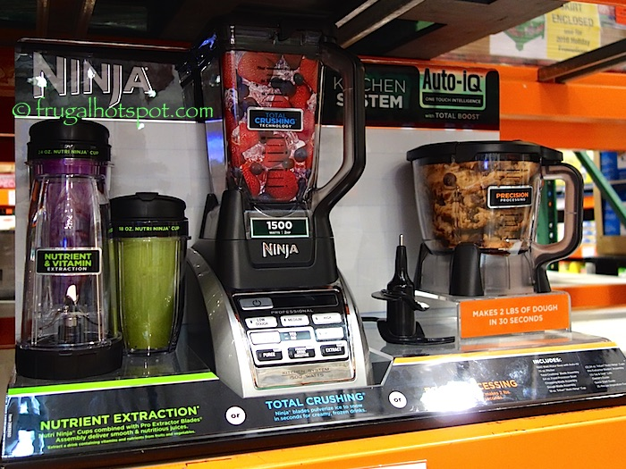 Ninja Auto-IQ Kitchen System Costco | Frugal Hotspot
