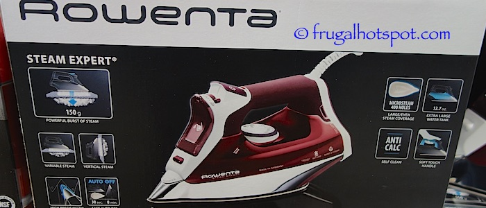 Rowenta Steam Expert Iron Costco | Frugal Hotspot