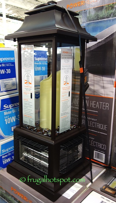 PowerHeat Tabletop Electric Lantern Heater Costco | Frugal Hotspot