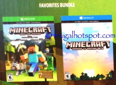 Xbox One Minecraft Bundle Costco | Frugal Hotspot