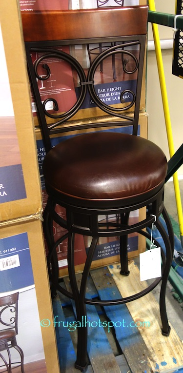 American Heritage Swivel Bar Height Barstool Costco | Frugal Hotspot