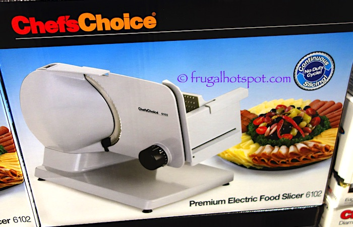 Chef's Choice Premium Electric Food Slicer Costco | Frugal Hotspot