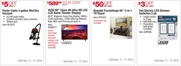 Costco Pre-Black Friday Sale: November 11 - 17, 2016. Prices Listed. | Page 8 | Frugal Hotspot