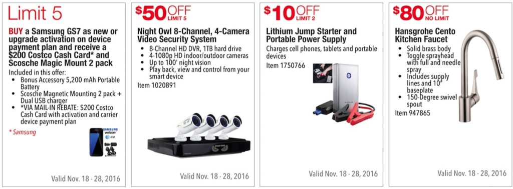 Costco Pre-Black Friday Holiday Sale: November 18 - 28, 2016. Prices Listed. | Frugal Hotspot | Page 11