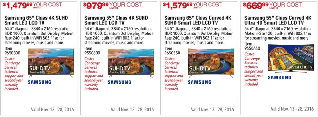 Costco Pre-Black Friday Holiday Sale: November 18 - 28, 2016. Prices Listed. | Frugal Hotspot | Page 3