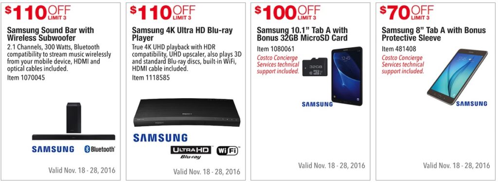 Costco Pre-Black Friday Holiday Sale: November 18 - 28, 2016. Prices Listed. | Frugal Hotspot | Page 6
