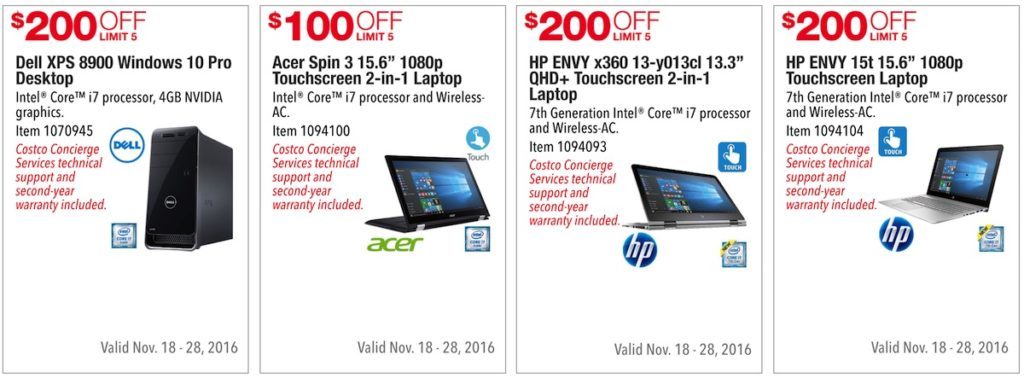Costco Pre-Black Friday Holiday Sale: November 18 - 28, 2016. Prices Listed. | Frugal Hotspot | Page 8