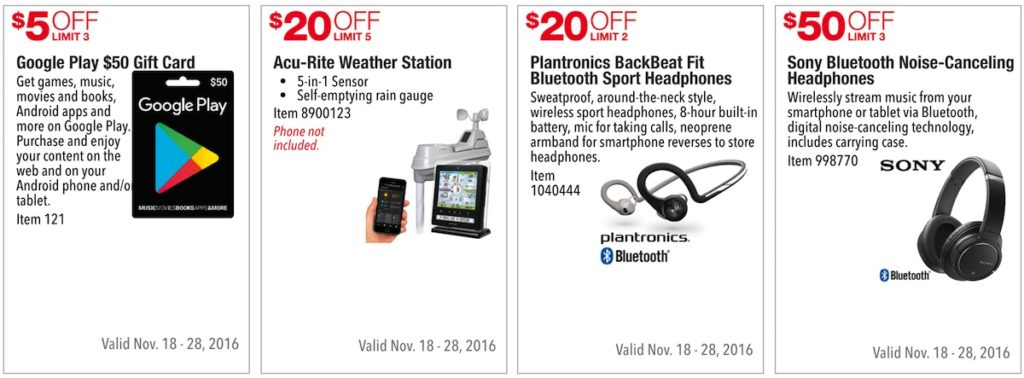 Costco Pre-Black Friday Holiday Sale: November 18 - 28, 2016. Prices Listed. | Frugal Hotspot | Page 9
