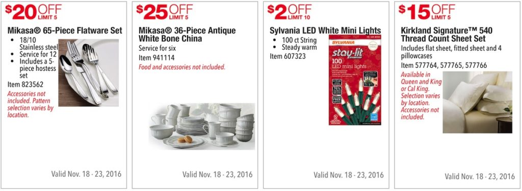 Costco Pre-Black Friday Holiday Sale: November 18 - 23, 2016. Prices Listed. | Frugal Hotspot | Page 2