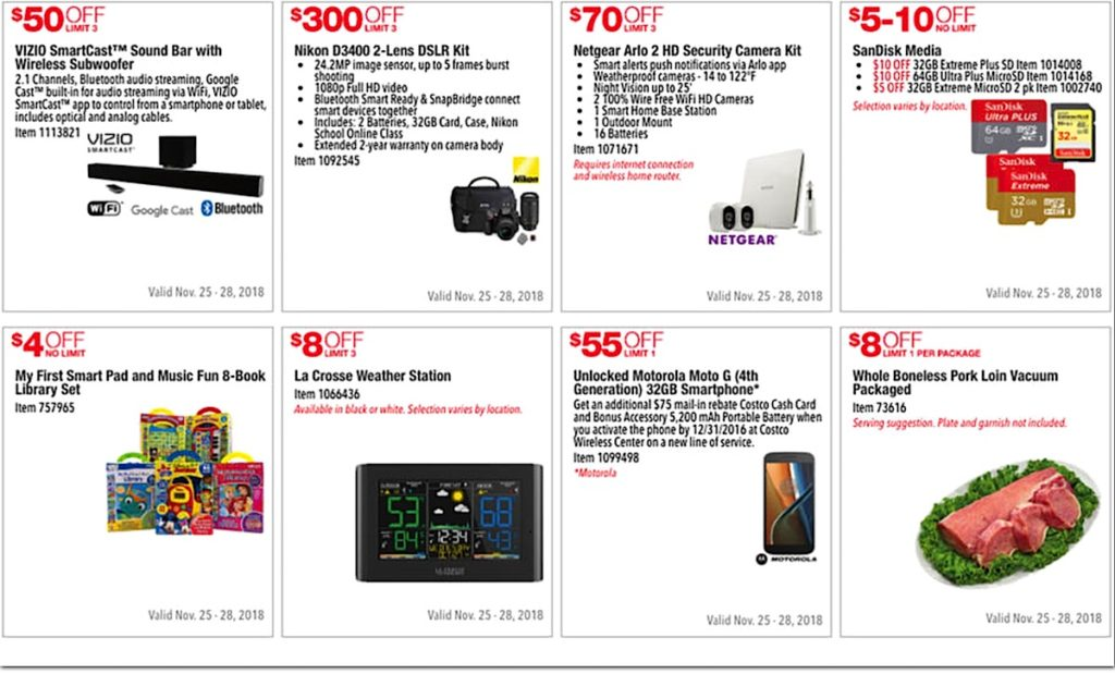 Costco 2016 Black Friday Ad: November 25 - 28, 2016. Prices Listed. | Page 2 | Frugal Hotspot