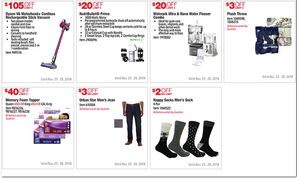 Costco 2016 Black Friday Ad: November 25 - 28, 2016. Prices Listed. | Page 4 | Frugal Hotspot