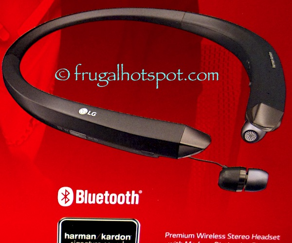 LG Bluetooth Tone Infinim Wireless Stereo Headset Costco | Frugal Hotspot