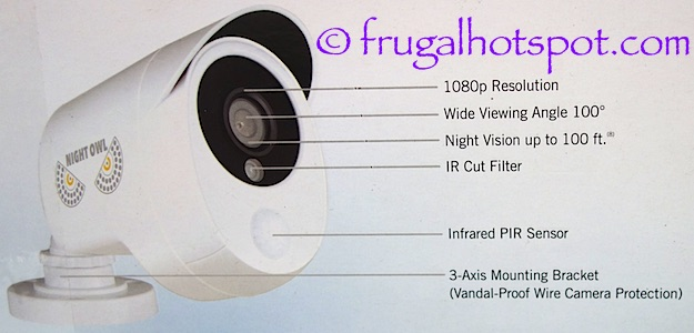 Night Owl HD Video Security DVR + 8 Cameras Costco | Frugal Hotspot
