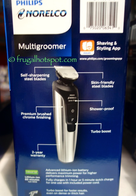 Norelco Multigroomer All-in-One Trimmer Costco | frugal Hotspot