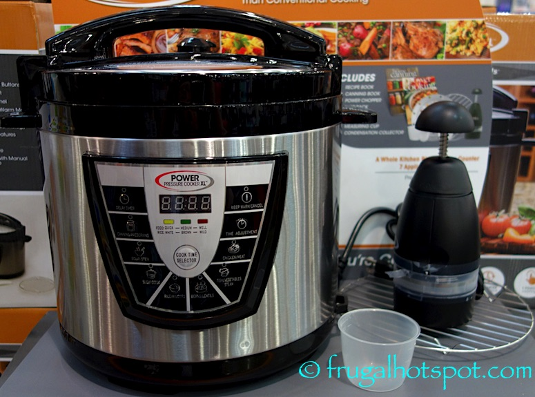 Tristar PPC-8 Power Pressure Cooker XL 8-Quart Costco | Frugal Hotspot